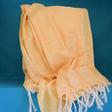 Picture of Yellow Strip Scarf