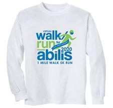 Picture of Abilis Walk/Run Long Sleeve Tee-Shirt 10 Pack Staff