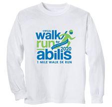 Picture of Abilis Walk/Run Long Sleeve Tee-Shirt Small