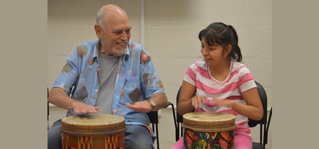 Drumming to the Special Needs Beat