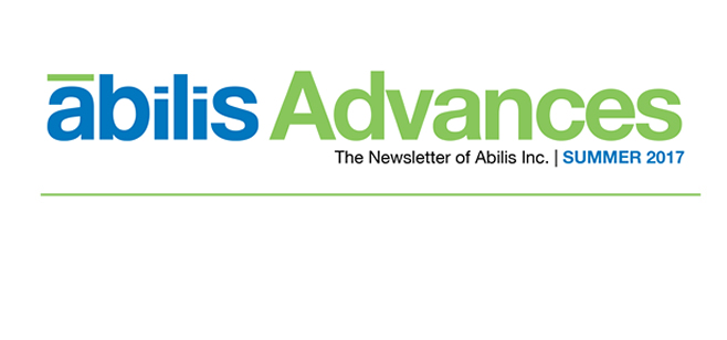 Abilis Advances Newsletter!